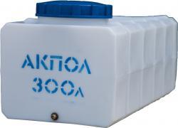 Прямоугольная пластиковая емкость 300 литров для воды АКПОЛ