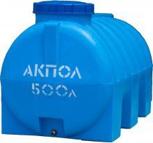 Бочка пластиковая для воды горизонтальная 500 литров