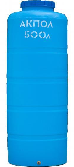 Вертикальный пластиковый бак для воды 500 литров