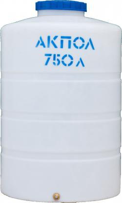 Вертикальный пластиковый бак для воды 750 литров Краснодар